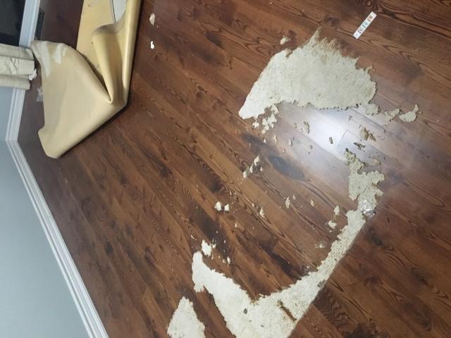Spot Refinishing Of Hardwood Flooring