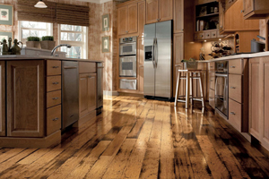 kitchen floors, should you use hardwood?